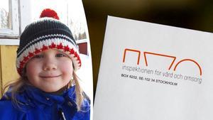 Anna Allemann i Resele blev bara fyra år gammal. Bild: Privat och TT Arkiv