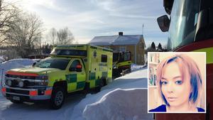 Det började brinna hemma hos Zarah Palm i Söråker under fredagsmorgonen. Bild: Lars Windh och privat