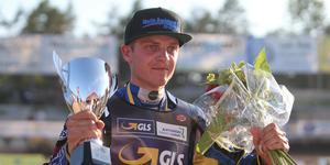 Jacob Thorssell är svensk mästare i speedway
