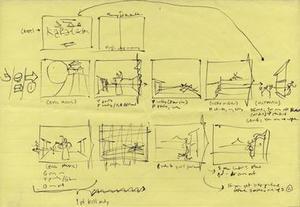 Jordan Mechner tecknade upp sitt spel