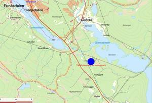 Det nya reningsverket ska ligga strax söder om Funäsdalen och Ljusnedal.