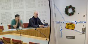 Häktningsförhandlingen ägde rum i Gävle tingsrätt.