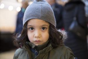 Benjamin Najjar, 4 år, förskolebarn, Mariekäll: