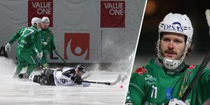 Hammarby besegrade Sandviken med 3–2 i matcher. På tisdagen börjar semifinalserien mot Västerås.