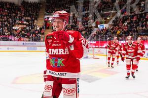 Lööke firar ett av sina nio mål denna säsong. Foto: Pär Olert / BILDBYRÅN.
