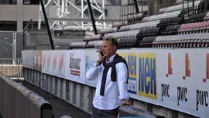 ÖSK:s sportchef Magnus Sköldmark har bråda dagar.