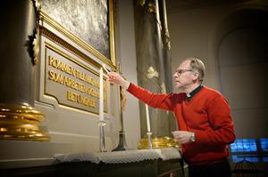 Kyrkoherde Sven Alberius utesluter ite att rutinerna kan ändras inför nästa år om det uppstår ett tryck kring frågan.