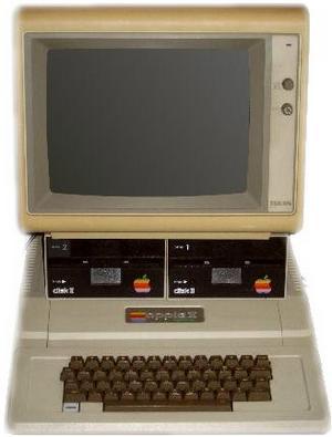 Det var på persondatorn Apple II som Jordan Mechner började programmera och skapa sin banbrytande spel. Foto: Rolf Schmidt