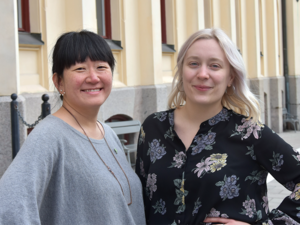 Miljöpartiets Maria Sääf och Katarina Folkeson skriver om behovet av att involvera fler i kommuns miljöarbete. FOTO:  Pontus Olofsson