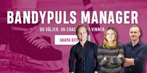 Christoffer Million, Jonna Igeland och Andreas Tagg har tagit ut sina lag i Bandypuls Manager – gör det du också.