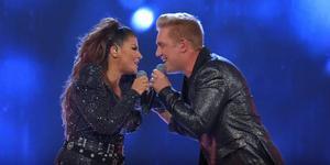 Carola+Gotte blev en vinnande kombination. Skärmklipp: TV4