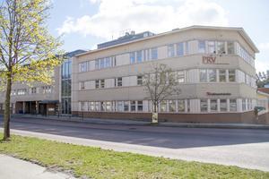 Kvarteret Lönnen i Söderhamn, där flera kommunala förvaltningar har sina kontor.