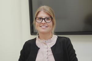 Chefen för elevhälsan i Ludvika kommun Jessica Carlberg arbetar också som tillförordnad skolchef fram till att en ny skolchef har tillträtt.