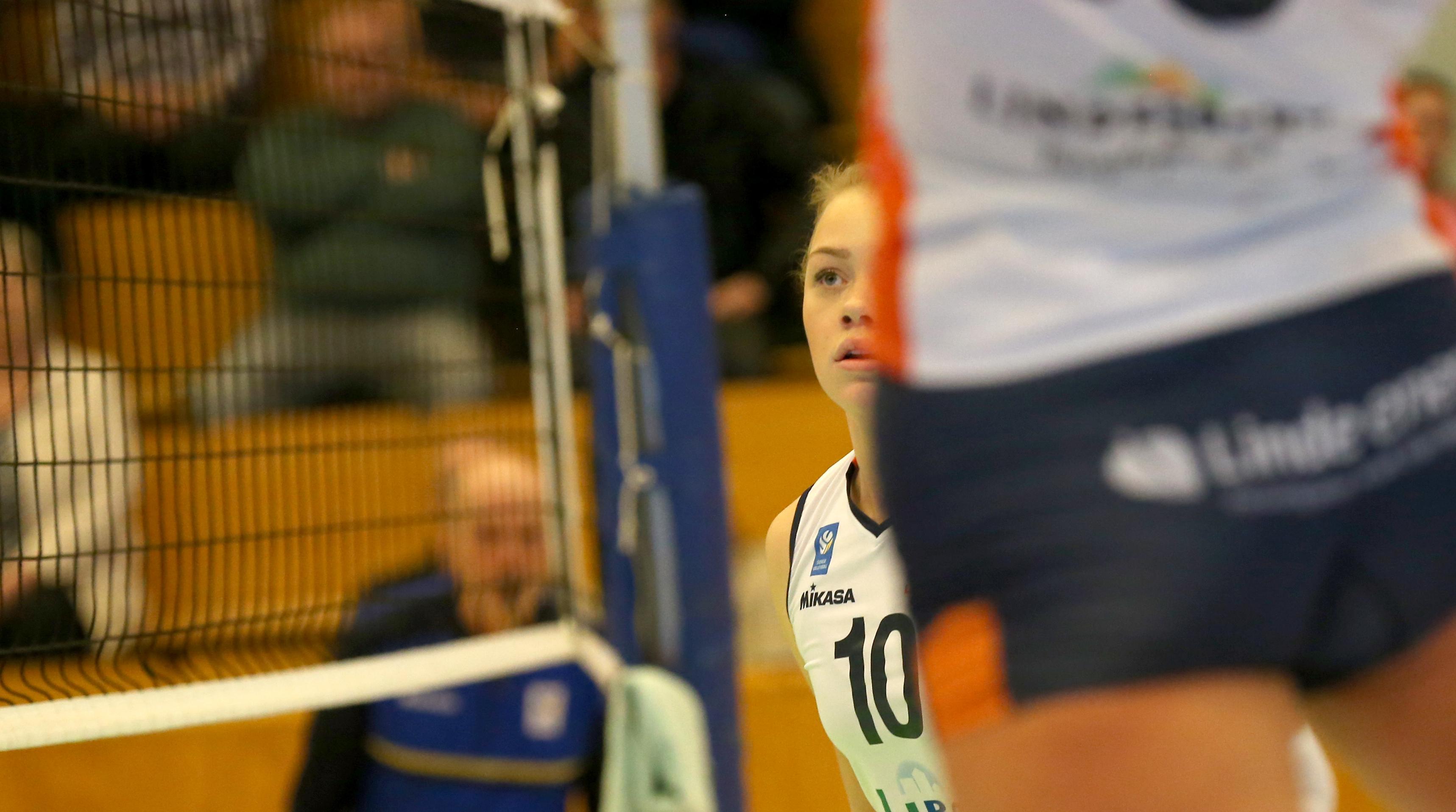 Elsa Arrestad noterades för fem poäng mot Örebro Volley.