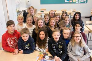 Klass 5A på Mariaskolan möter Kunskapsskolan från Västerås på fredag.
