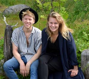 Viktor Lysell Smålänning och Rebecca Lindsmyr hämtar fortfarande mycket inspiration från Freluga och Edsbyn där släkt och många vänner finns.