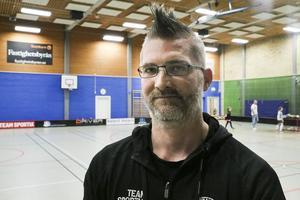 Mattias Ekström, en av Hälsingespelens arrangörer.
