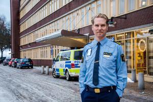 Josef Wiklund, lokalpolisområdeschef i Medelpad.
