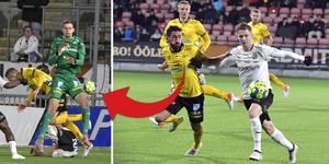Elfsborgsmålvakten Tim Rönning tappade bollen som rullade fram till Johan Bertilsson som kunde rädda en poäng för ÖSK.