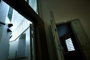 Den nya säkerhetsavdelningen på Kumla stod klar 2009. Arkivfoto: Pavel Koubek.