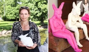 Cecilia Stärner och Andrea Grath är två av de konstnärer som ställer ut i Rånäs.
