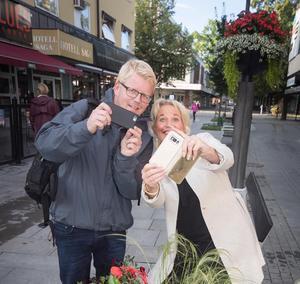 Henri Hansson och Lena Lagestam: