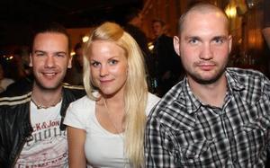 År 2011. Daniel, Cicci och Gustav på Bill & Bob. Foto:Emma Andersson Talus