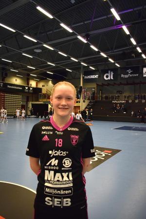 Elsa Rendalen svarade för två mål mot Thorengruppen.