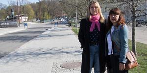 Eva Allwin och Marlene Cruz arbetar som personliga assistenter. De var anställda hos Fancy Care.