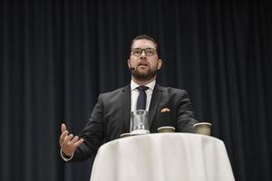 Jimmie Åkesson besöker Västerås fredagen den 10 maj.