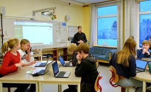 Läraren Jimmie Nordberg på Lucksta skola vill att alla ska lyckas.