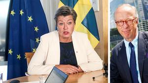 Ylva Johansson blir EU-kommissionär med ansvar för migrations- och inrikesfrågor.FOTO: Wiktor Nummelin/TT