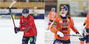 Anfallare som just nu är hetast i elitserien: Oscar Wikblad och Christian Mickelsson.