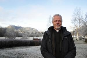 Peter Forsberg kommer närmast från jobbet som fängelsepräst på Saltvik.