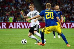 Toni Kroos avgjorde mot Sverige. Bild: Petter Arvidson/Bildbyrån.