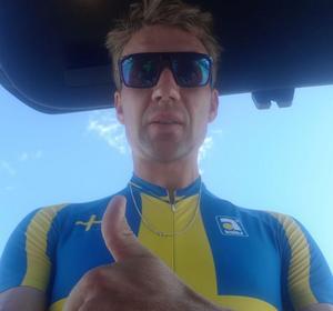 Andreas Ringvall vann guld i nordiska mästerskapen. Bild: Privat