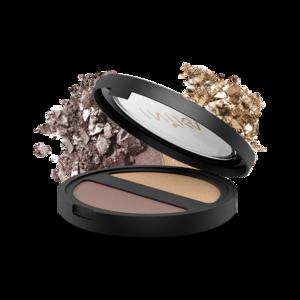 Inika, pressed mineral eye shadow duo, 329 kr