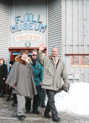 I mars 1999 invigdes Fjällmuseet i Funäsdalen. Foto: Håkan Persson