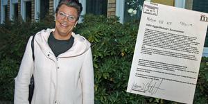 Johanna Olofsson och Moderaterna har lämnat in ett förslag om att införa tiggeriförbud i Surahammars kommun.