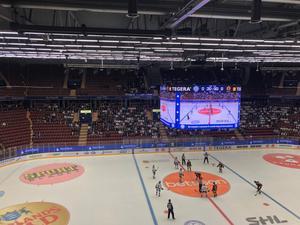 Glest på läktarna när Leksand hemmaslog Skellefteå med 3–2.
