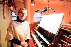 Maria Säfsten framförde en tonsättning av Erik Axel Karlfeldts dikt