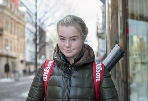 Tilde Strömquist, 14 år, skolelev, Sundsvall: