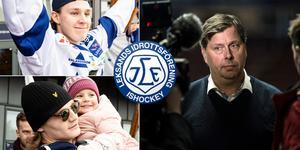 Blir Marcus Karlberg och Anton Karlsson kvar i Thomas Johanssons Leksandsbygge till SHL? Foto: Lars Dafgård / Bildbyrån