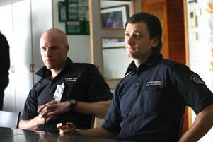 Flygplatsbrandmännen Jon Sjöberg och Emil Holmström är några av huvudpersonerna i TV3:s realityserie om Arlanda.