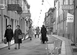 Norra Storgatan i Eksjö cirka 1970.