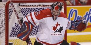 Dustin Tokarski vann JVM-guld med Kanada 2009. Foto: AP Photo/The Canadian Press, Adrian Wyld)