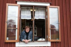 Anna Frisk driver Café Tunet igen. Hennes förhoppning är att hon även ska kunna fortsätta fler somrar.