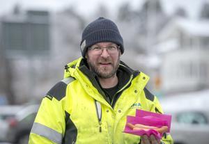 Marcus Puusaari, 37 år, fibertekniker, Sundsvall.