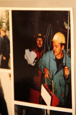 Ett antal foton, från 1989 och fram till idag, finns att se för de intresserade. Här är det en 30 år yngre Bosse Nilsson som syns till vänster.