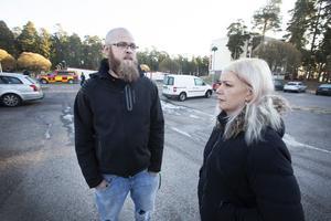 Kenneth och Stella Furustål tror att bilbränderna kommer fortsätta.